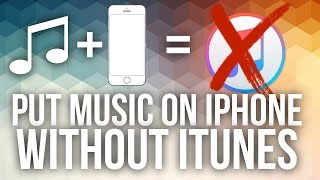 PUT MUSIC ON YOUR IPHONE WITHOUT ITUNES!!