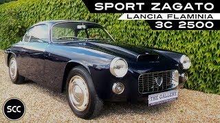 Lancia Flaminia 3C 2500 Sport Zagato - Modest test drive with V6 engine sound | SCC TV