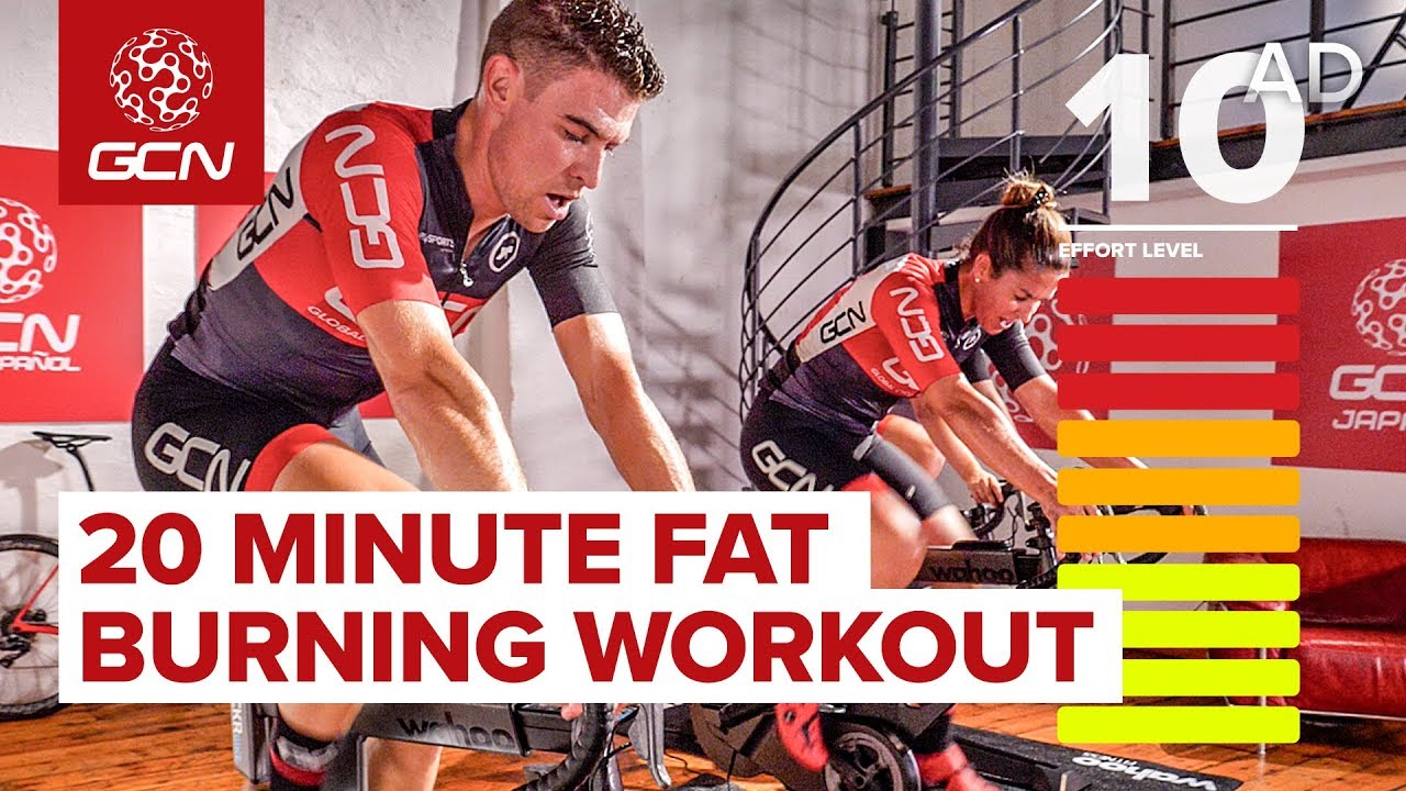fat burning bike workout