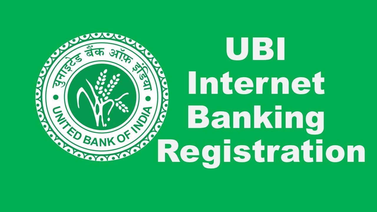 united bank of india online registration form