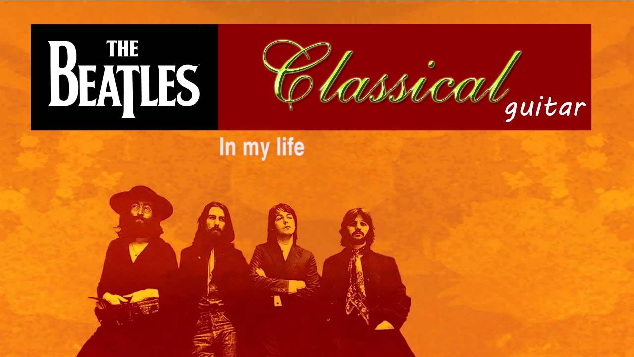 the beatles classical guitar youtube. Black Bedroom Furniture Sets. Home Design Ideas