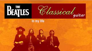 The Beatles --- Classical guitar