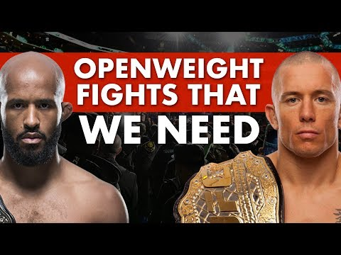 5 Openweight Fights We NEED To See