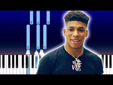 NLE Choppa – Camelot (Piano Tutorial)