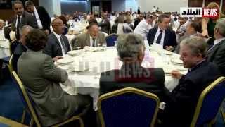 الاحتفال بانتخاب محمد العيد بن عمورعلى رأس الغرفة الجزائرية للتجارة و الصناعة