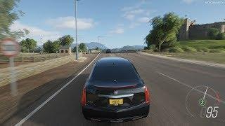 Forza Horizon 4 - 2013 Cadillac XTS Limousine Gameplay [4K]