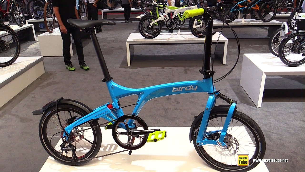 2017 Reise Amp Muller Birdy Speed Folding Bike Walkaround