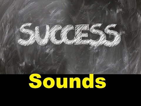 Success Sound Effects All Sounds