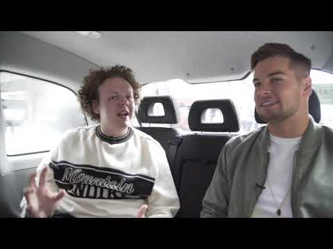 Jack Rooke & Chris Hughes have a chat in a cab