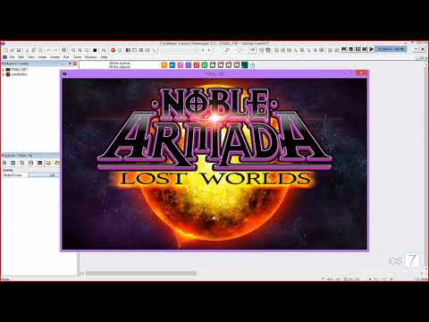 Using Fusion 2.5 to make Noble Armada: Lost Worlds