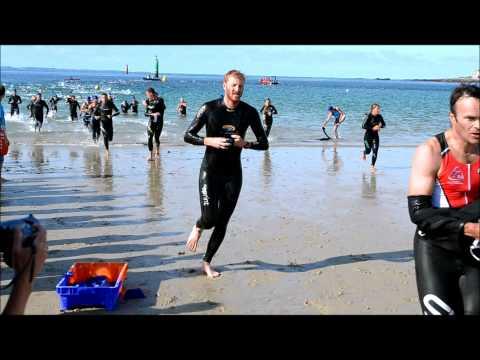 triathlon sprint quiberon 2012