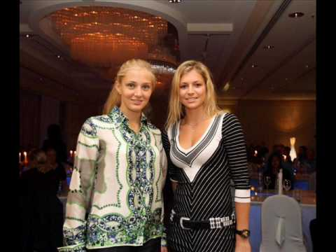 Russian Tennis Stars Together