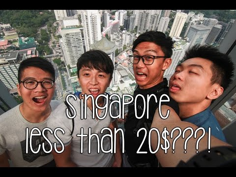 Travel Vlog- Singapore less than 20SGD Day Trip