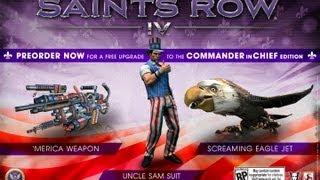 Saints Row 4 - Commander In Chief (Uncle Sam,
