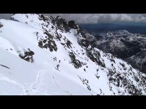 Mt. Stuart Sherpa Glacier Couloir