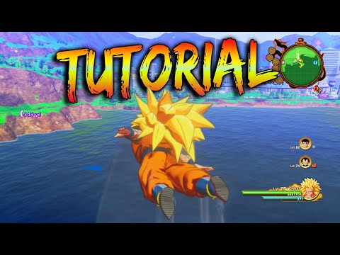 How To Use Transformations in Free Roam - Dragon Ball Z Kakarot