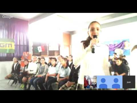 {2016} A meeting with Mexico - 5th grade A