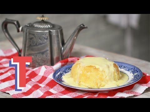 Steamed treacle sponge doovi for Treacle sponge pudding oven