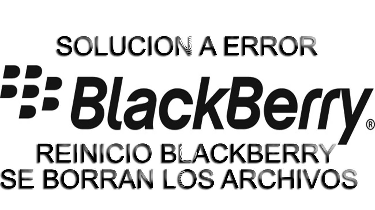 How to fix blackberry error www bberror com bb10-0015
