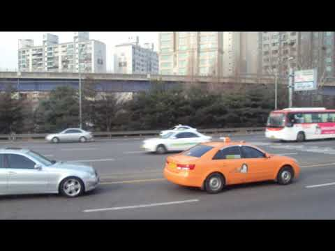 city cabs in south korea