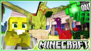 Fairy Horse and Rainbow Ostriches!   Minecraft One Life 2.0   Ep.17