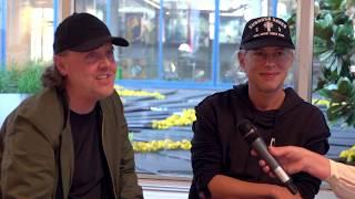 Metallica visits CERN