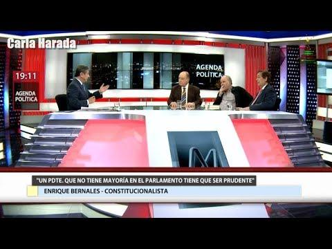 Florez Aráoz, García Belaunde, Bernales Ballesteros: situación del presidente Pedro Pablo Kuczynski