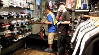 寿君&RAY GIMME FIVE IN STORE LIVE 2012