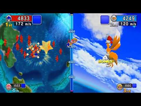 Sonic VS Tails Mario & Sonic at the Olympic Games PlatForm HD