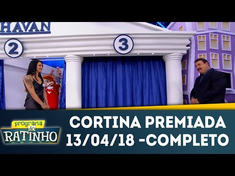 Cortina Premiada - Completo | Programa Do Ratinho (13/04/18)