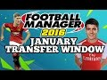 FOOTBALL MANAGER 2016 PREDICTS JANUARY 2016 TRANSFER WINDOW!