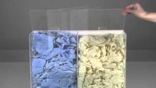 Trippnt 50101 Pvc/acrylic Wall-mountable Apparel Dispenser