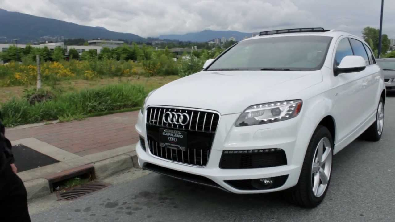 2013 Audi Q7 3 0t Supercharged Review Youtube