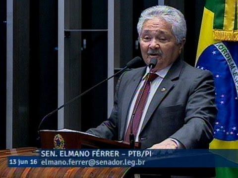 Elmano Férrer alerta para aumento da violência sexual no Brasil e crise no setor agrícola do Piauí