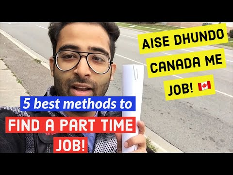 How to find a PART TIME job in Canada | Do these things to get a job | Indians in Canada 2019