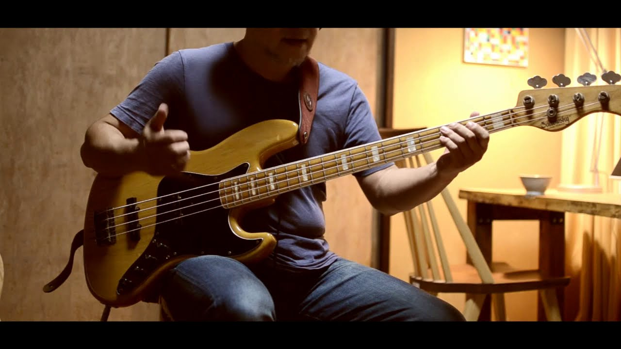DAZZLING - Casiopea | Bass cover
