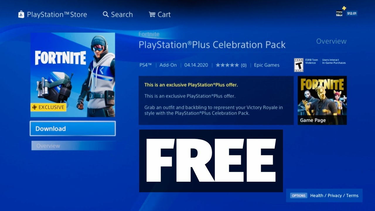 How To Get The Free Ps4 Skin On Fortnite Fortnite How To Get A Free Skin Outfit On Ps4 2020 Ps Plus Pack Fortnite Battle Royale Youtube