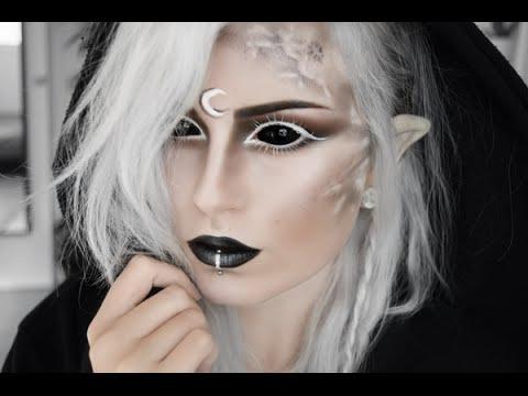 Demon Moon Elf Makeup Tutorial Youtube