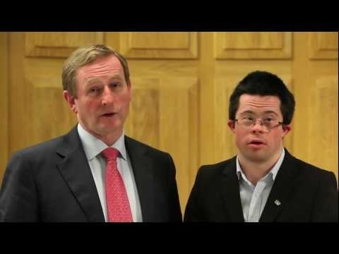 You come work with me! - Taoiseach Enda Kenny