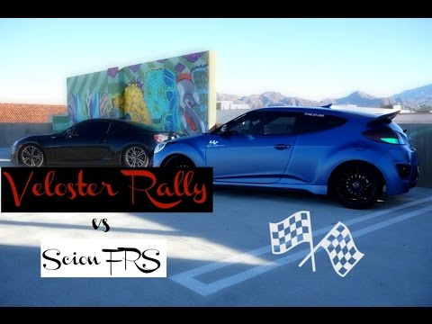 Veloster Turbo Rally VS Scion Frs