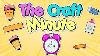 The Craft Minute: Pompom wool bunnies DIY #Shorts