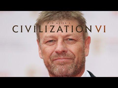 Sean Bean is Magnificent in Civilization VI