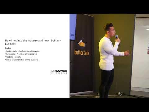 Digital Media Marketing & Young Entrepreneurs - ButterTalk Presentation