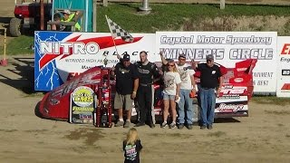 Crystal Motor Speedway Late Model Feature