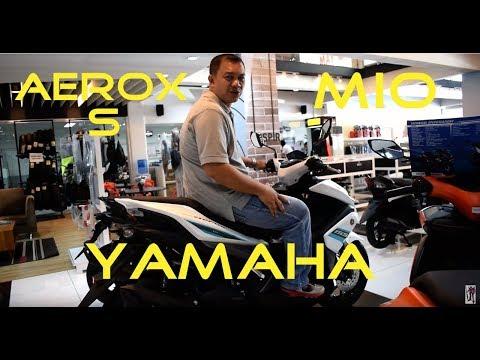 Shop Talk: Yamaha Mio   Aerox S