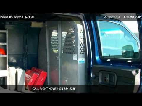 2004 gmc savana 3500 cargo van used car dealership oswego il autosmart youtube. Black Bedroom Furniture Sets. Home Design Ideas