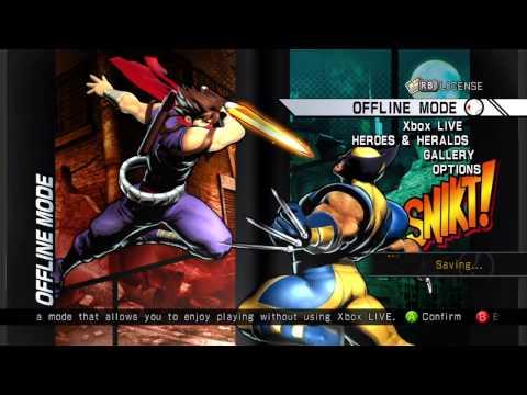 Ultimate Marvel Vs Capcom 3: Game Hunting |