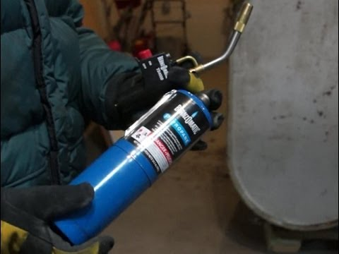 Bernzomatic Torch Safety