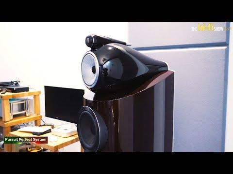 Bowers & Wilkins 802 D3 Prestige Edition Chord Electronics Chord Company @  The hi-fi Show Live 2018
