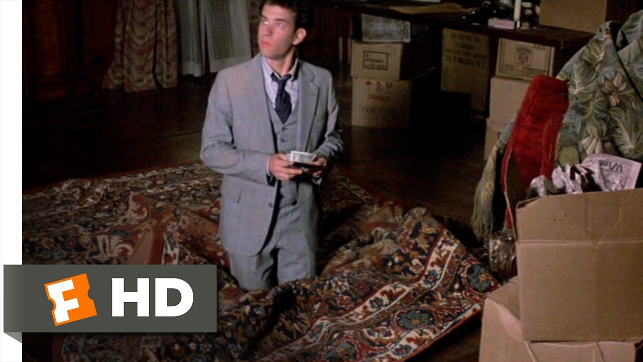 The Money Pit 59 Movie CLIP Stuck In The Floor 1986